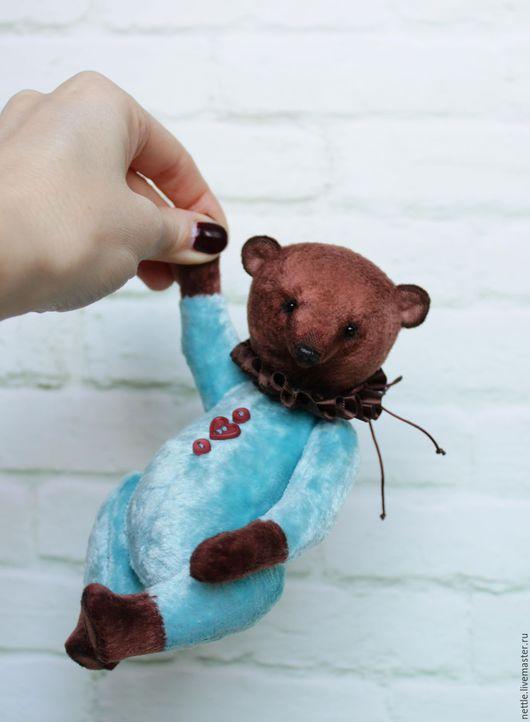 Мишки Тедди ручной работы. Ярмарка Мастеров - ручная работа. Купить Лукас. Handmade. Комбинированный, мишка игрушка, опилки древесные