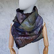 Аксессуары handmade. Livemaster - original item Felted scarf