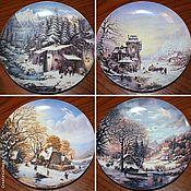 Винтаж handmade. Livemaster - original item Beautiful plates
