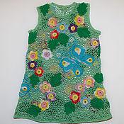 Работы для детей, ручной работы. Ярмарка Мастеров - ручная работа Платье Бабочки вариации. Handmade.