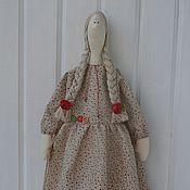 Куклы и игрушки ручной работы. Ярмарка Мастеров - ручная работа Тильда с совой. Handmade.
