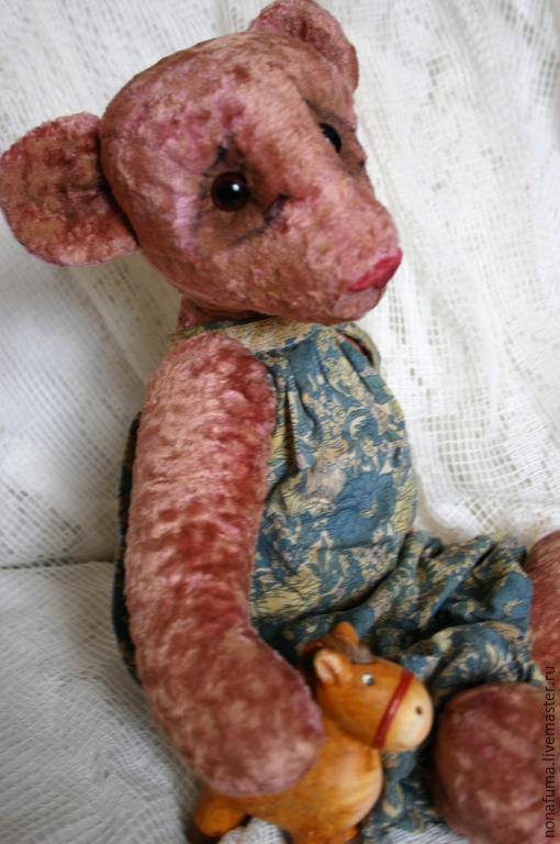 Мишки Тедди ручной работы. Ярмарка Мастеров - ручная работа. Купить Мишка. Handmade. Тедди, глазастый, комбинезон, опилки
