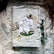 Блокноты ручной работы. Ярмарка Мастеров - ручная работа Блокнот-артбук Moomin book. Handmade.