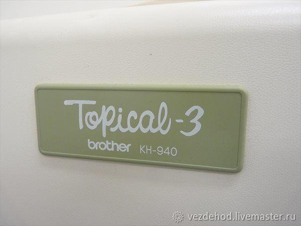Электронная Бразер КН 940 Япония BROTHER – купить в интернет-магазине на Ярмарке Мастеров с доставкой