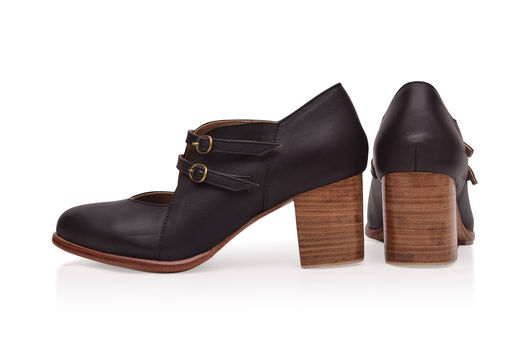 Обувь ручной работы. Ярмарка Мастеров - ручная работа. Купить Skylight. Винтажные кожаные туфли для весны и осени.. Handmade. туфли