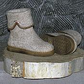 Felt boots handmade. Livemaster - original item Women`s felted boots 2.. Handmade.
