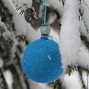 Подарки к праздникам ручной работы. Ярмарка Мастеров - ручная работа Елочный шар.. Handmade.