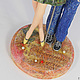 """Коллекционные куклы ручной работы. Интерьерная композиция """"Пара"""", грунтованный текстиль, статуэтка. 'Волшебная шкатулка' (Надежда). Ярмарка Мастеров. Кукла"""