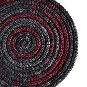 Аксессуары ручной работы. Ярмарка Мастеров - ручная работа Украшение на шею Lasso Shadow вязаный шарф колье бусы. Handmade.