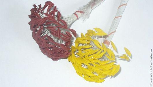 Материалы для флористики ручной работы. Ярмарка Мастеров - ручная работа. Купить Тычинки для лилий - 6 штук. Handmade. Тычинки для лилий
