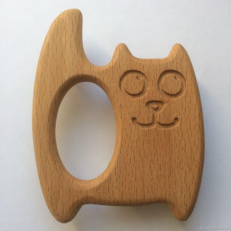 Картинка деревянного кота