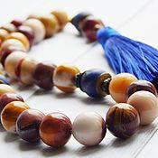 Фен-шуй и эзотерика handmade. Livemaster - original item Rosary here and now from Jasper torments. Handmade.