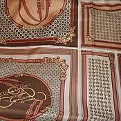 Платок в стиле Hermes