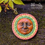 Украшения handmade. Livemaster - original item Brooch-pin: The full moon. Handmade.