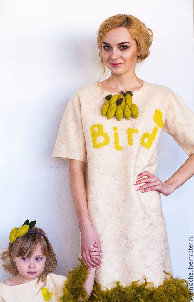 Felt dress 'the Bird', Dresses, Minsk,  Фото №1