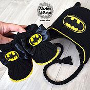 """Работы для детей, ручной работы. Ярмарка Мастеров - ручная работа Комплект """"Batman"""". Handmade."""