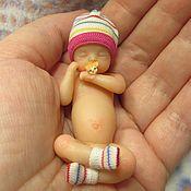 Куклы Reborn ручной работы. Ярмарка Мастеров - ручная работа Спящий младенец из силикона. Handmade.