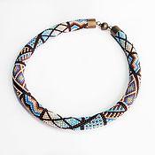 Украшения handmade. Livemaster - original item Necklace: The wiring from the Japanese bead Foam Cove. Handmade.