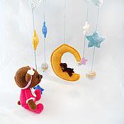 """Куклы и игрушки ручной работы. Ярмарка Мастеров - ручная работа Мобиль """"Сны на луне"""". Handmade."""