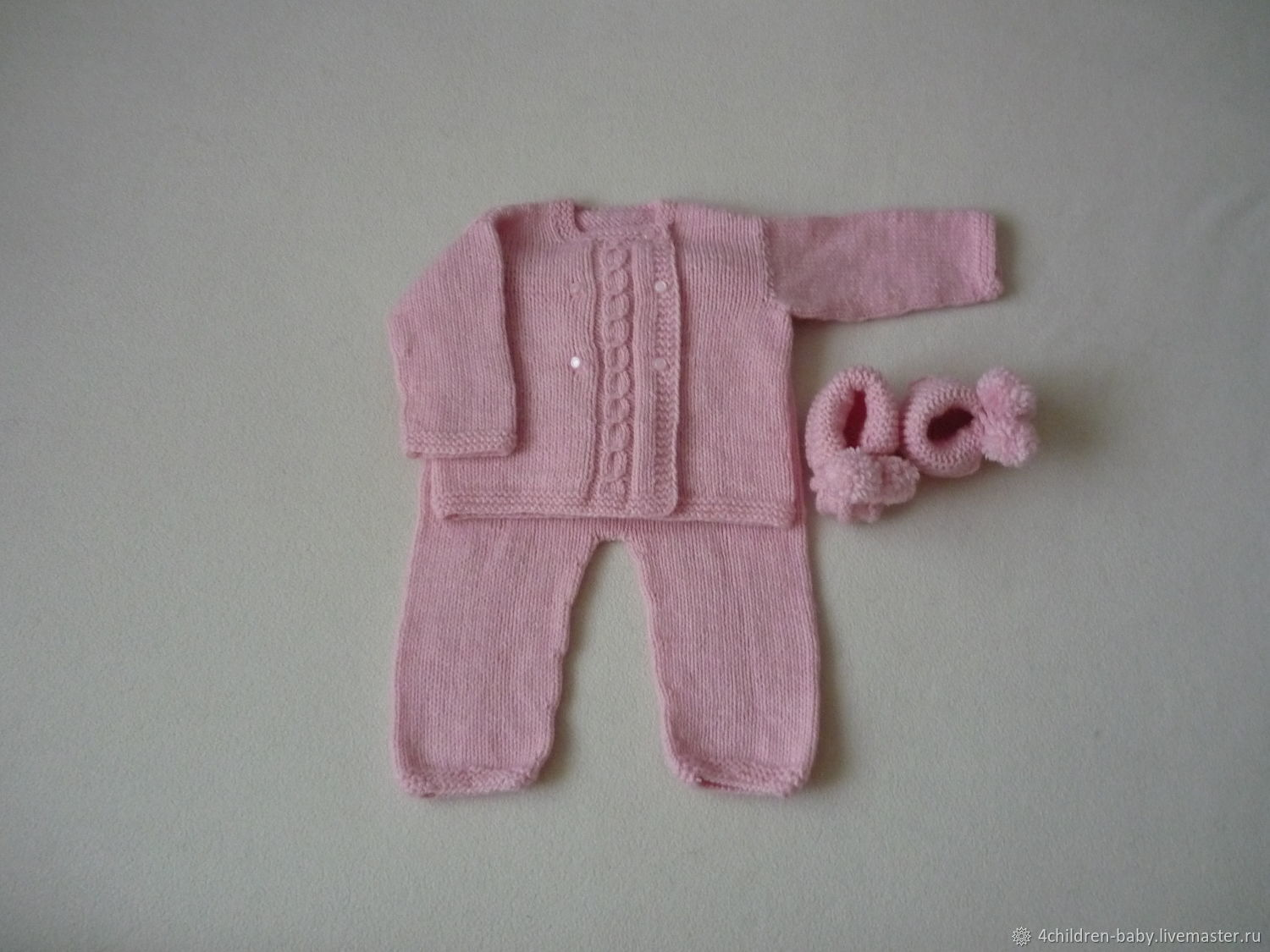 Knitted kit for girls, Baby Clothing Sets, Moscow,  Фото №1
