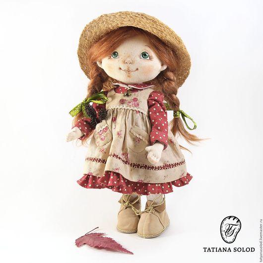 Маняша. Кукла текстильная. Кукла ручной работы.