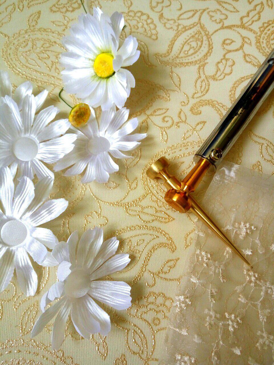 Инструмент для цветоделия. Булька для ромашки, Инструменты для флористики, Черноголовка, Фото №1