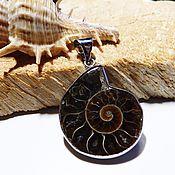 Украшения handmade. Livemaster - original item Pendant Ancient ocean Ammonite 2. Handmade.