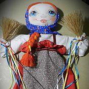 Куклы и игрушки ручной работы. Ярмарка Мастеров - ручная работа Кукольный театр.Тростевая кукла Масленица. Handmade.