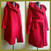 Одежда handmade. Livemaster - original item The scarlet coat. Handmade.