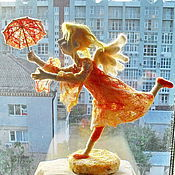 """Куклы и игрушки ручной работы. Ярмарка Мастеров - ручная работа Авторская кукла из шерсти """"Добрая весть"""". Handmade."""