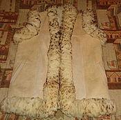 Одежда ручной работы. Ярмарка Мастеров - ручная работа Жилет из натурального меха. Handmade.