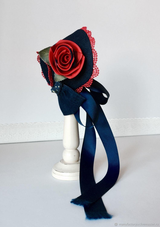 Шляпка для куклы Паола Рейна, Одежда для кукол, Смоленск,  Фото №1