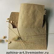 """Канцелярские товары ручной работы. Ярмарка Мастеров - ручная работа """"Ретро""""- конверты и бумага ручной работы для писем. Handmade."""