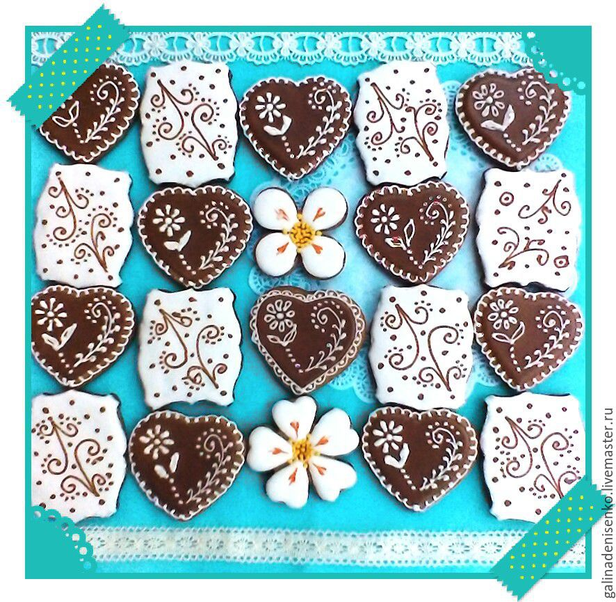Set of cakes FOR FRIENDS, Gingerbread Cookies Set, Rostov-on-Don,  Фото №1