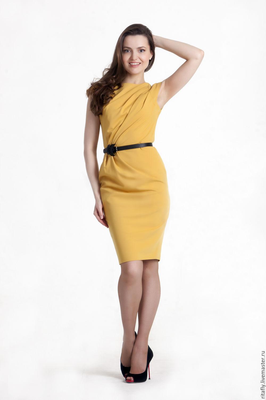 Платье летнее в офис фото