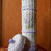 Для дома и интерьера handmade. Livemaster - original item Basket for needlework in the style of shebbi-chic. Handmade.
