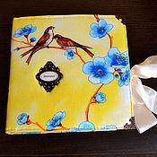 Подарки к праздникам ручной работы. Ярмарка Мастеров - ручная работа Альбом первого года жизни для мальчика. Handmade.