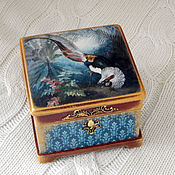 Для дома и интерьера ручной работы. Ярмарка Мастеров - ручная работа Шкатулка  викторианская Фазан. Handmade.