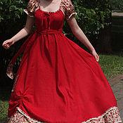 Одежда ручной работы. Ярмарка Мастеров - ручная работа платье Аленький Цветочек. Handmade.