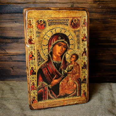 Pictures and panels handmade. Livemaster - original item Iveron icon of the mother of God (Parthenissa). Handmade.
