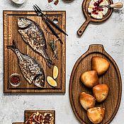 Посуда handmade. Livemaster - original item Great set for kitchen oak. Handmade.