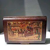 handmade. Livemaster - original item wooden box. Free shipping. Handmade.