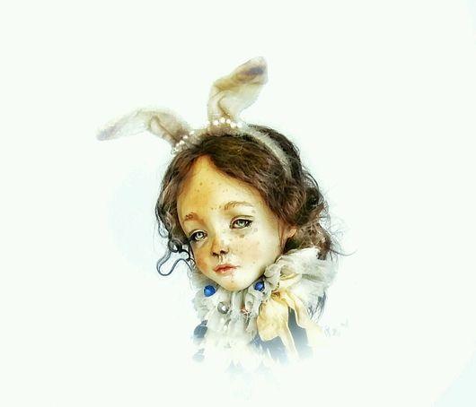 Коллекционные куклы ручной работы. Ярмарка Мастеров - ручная работа. Купить Зайка Матильда.Авторская интерьерная коллекционная кукла ручной работы. Handmade.