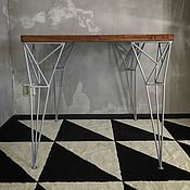 Столы ручной работы. Ярмарка Мастеров - ручная работа Стол CORNER и табурет SPIKE. Handmade.