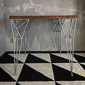 Для дома и интерьера handmade. Livemaster - original item CORNER table and SPIKE stool. Handmade.