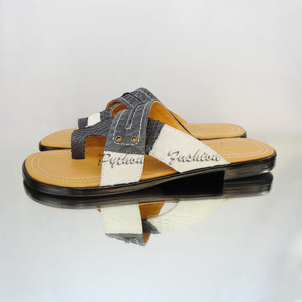 Мужские сандалии из питона Zeus, Сандалии, Денпасар,  Фото №1