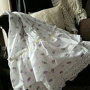 Одежда ручной работы. Ярмарка Мастеров - ручная работа Нижняя бохо юбка Перышки. Handmade.