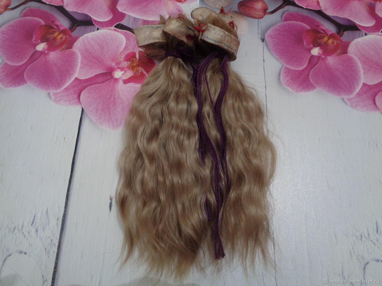 Волосы для куклы, Народная кукла, Троицк,  Фото №1