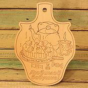 """Доски ручной работы. Ярмарка Мастеров - ручная работа Доска разделочная """"Любимой бабушке"""". Handmade."""