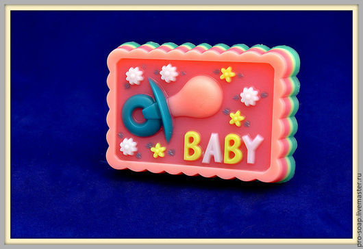 Мыло ручной работы. Ярмарка Мастеров - ручная работа. Купить Мыло малыш. Handmade. Разноцветный, мыло сувенирное, детское мыло